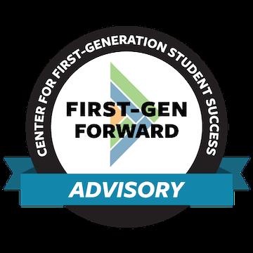 First-Gen Forward Advisory distinction logo